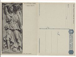 1800) INTERO POSTALE FRANCHIGIA LA VITTORIA MOSTRA AUGUSTEA WW2 NUOVA - Franchigia