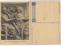 1801) INTERO POSTALE FRANCHIGIA PER LA PATRIA MOSTRA AUGUSTEA WW2 NUOVA - Franchigia