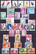 België Kleine Verzameling Betere Reeksen Gestempeld,  Zeer Mooi Lot 3663 - Timbres
