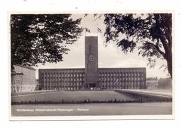 2940 WILHELMSHAVEN - RÜSTRINGEN, Rathaus, NS-Beflaggung - Wilhelmshaven
