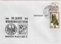 FLOR-L157 - ALLEMAGNE Entier Postal Env. De BRUCHSAL BRUPOSTA 1978 - [7] República Federal