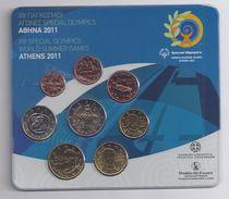 GRIEKENLAND / GRECE  EUROMUNTEN BU-set 2011 -  VOLLEDIGE REEKS - Espagne