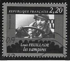 N° 2433   FRANCE  -  OBLITERE  -  LOUIS FEUILLADE   -  1986  Cachet Bleu - Frankreich