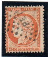 """Siège De Paris  """"CERES"""" - N° 387* Obl.- 40c Orange - 1870 Siege Of Paris"""
