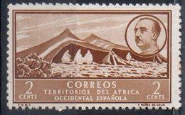 Africa Occidentale Spagnola Spanish West Africa - Accampamento Camp MH * - Sahara Spagnolo