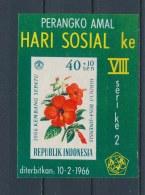Indonesië/Indonesia/Indonésie/Indonesien 1966 Mi: Block 5 Yt:  (Ongebr/MH/Neuf Avec Ch/Ungebr/*)(2749) - Indonesië
