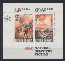 Indonesië/Indonesia/Indonésie/Indonesien 1967 Mi: Block 9 Yt:  (Ongebr/MH/Neuf Avec Ch/Ungebr/*)(2750) - Indonesië