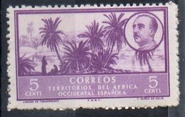 Africa Occidentale Spagnola Spanish West Africa - Palme Palms MH * - Sahara Spagnolo