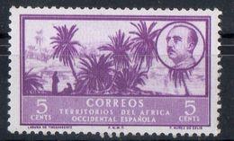 Africa Occidentale Spagnola Spanish West Africa - Palme Palms MNH ** - Sahara Spagnolo