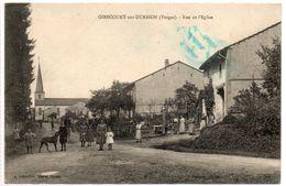 88  GIRECOURT  Sur DURBION    Rue De L'église - Andere Gemeenten