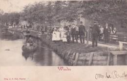 360332Edam - Volendam, Warder Padje (grootrond Stempel 1902 Oosthuizen)(minimaal Klein Deukje Bovenin) - Edam