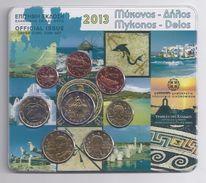GRIEKENLAND / GRECE  EUROMUNTEN BU-set 2013 -  VOLLEDIGE REEKS - Espagne