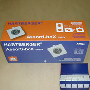 Assorti-box Hartberger - Voor 500 Munthouders - Matériel