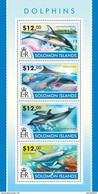 SOLOMON ISLANDS 2015 SHEET DOLPHINS DAUPHINS DELFINEN DELFINI DELFINES GOLFINHOS MARINE LIFE Slm15208a - Isole Salomone (1978-...)