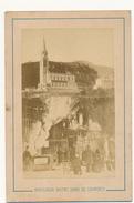 Basilique Notre Dame De Lourdes - Photo CDV  8 X 12 Cm - Photographie Viron à Lourdes - Anciennes (Av. 1900)