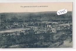 CPA - 34415 - 54 - Pont A Mousson - Vue Générale - Pont A Mousson