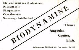 BIODYNAMINE AMPOULE GOUTTES ELIXIR - Produits Pharmaceutiques
