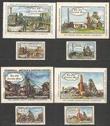 Russia Old Matchbox Labels - Old Cornish Mine - Zündholzschachteletiketten
