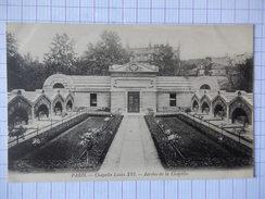 CPA - (75) - RARE- PARIS - CHAPELLE LOUIS XVI - JARDIN DE LA CHAPELLE - R6327 - Parcs, Jardins