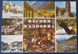RECORD D'ANDORRA Multiview Llac Del Pessons Arinsal Pon De St- Antoni La Massana Pas De La Casa St. Joan De Caselles Vg - Andorra
