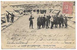BOUCHES DU RHÔNE  Camp De CARPIAGNE - Un Coin Du Camp - Militari