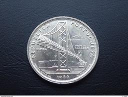 Portugal - 20 Escudos (20$00) 1966 Salazar Bridge Silver - UNC - Portugal