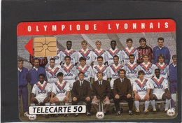 "D 574   - "" OLYMPIQUE LYONNAIS  ""carte Luxe - - France"