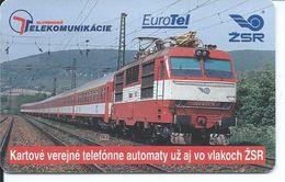 Télécarte à Puce TRAIN Telefonotek Telefonkarte Phonecard  (S.609) - Slovaquie