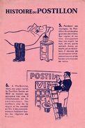 HISTOIRE DE POSTILLON - Buvards, Protège-cahiers Illustrés