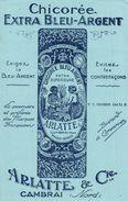 CHICOREE EXTRA BLEU ARGENT - Buvards, Protège-cahiers Illustrés