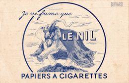 PAPIERS A CIGARETTE LE NIL - Buvards, Protège-cahiers Illustrés