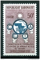 Gabon, 1960, Commission For Technical Cooperation In Sub Saharan Africa, United Nations, MNH, Michel 153 - Gabon (1960-...)