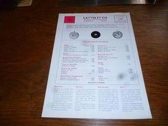 Folder Technique Horlogerie Mortima Cattin Et Cie Morteau Mouvements Roskopf C66 - Bijoux & Horlogerie