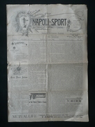 Napoli Sport Rassegna Settimanale Illustrata N. 42 2/2/1896 Reale Tenuta Tombolo - Libri, Riviste, Fumetti