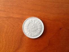 5 Francs Lavrillier 1949 - France