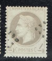 A4b-N°27 Gris Sans Défaut - 1863-1870 Napoléon III Lauré