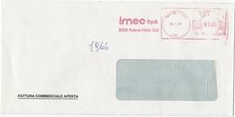 BUSTA VIAGGIATA - AZIENDA IMEC SPA  - PADERNO D ' ADDA - COMO - Machine Stamps (ATM)