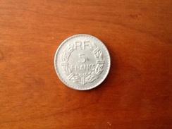 5 Francs Lavrillier 1950 - France