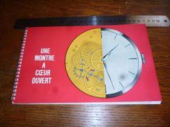 Folder  Horlogerie Montres Une Montre à Coeur Ouvert Asuag Bienne - Bijoux & Horlogerie