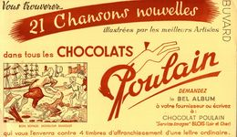 CHOCOLAT POULAIN BON VOYAGE MONSIEUR DUMOLET - Löschblätter, Heftumschläge