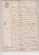 LETTRE NOTAIRE EN 1849 FAMILLE GIROD Et VACHER A MALTAVERNE - Manuscrits