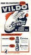 VILDO ADHERE NE POUDRE PAS - Buvards, Protège-cahiers Illustrés