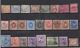 Egypte  Lot De 25 Timbres Avant 1940 - Égypte