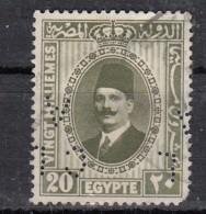 Egypte  Lperforé  Perfin  YT N°125 - Égypte