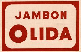 JAMBON OLIDA - Buvards, Protège-cahiers Illustrés