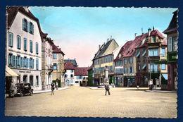 67. Haguenau. La Place D'Arme. Pharmacie Boeglin. Th. Bausch. A. Tillemann. Boulangerie. Au Jardin Du Midi. 1952 - Haguenau