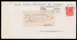 CLUB ITALO - FRANCESE DI PADOVA - Programma Delle Manifestazioni (novembre 1957) - Programmi