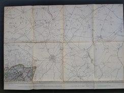 Topografische En Militaire Kaart STAFKAART 1904 Gemmenich Neutraal Moresnet Neutre Vaals Aix-La-Chapelle Epe Kerkrade - Cartes Topographiques