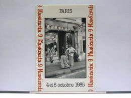 PARIS - 1985 - RUE MOUFFETARD - LE PAIN POUR LE VIN ! - 150 EX. - ETAT NEUF - France