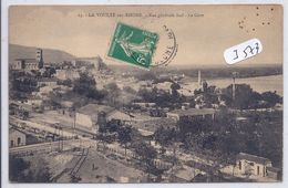 LA VOULTE-SUR-RHONE-- VUE GENERALE SUD- LA GARE - La Voulte-sur-Rhône